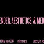 Summer 2015 Online Course: Gender, Aesthetics, & Media